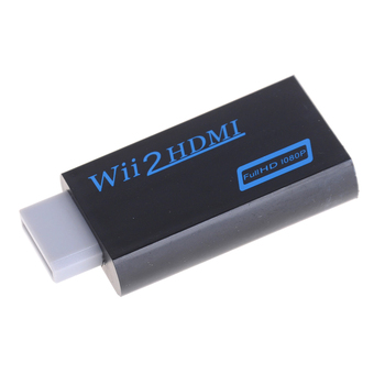 Wii, uz HDMI Adapteri Converter Atbalsta Full HD 1080P 720P 3.5 mm Audio Wii2HDMI Adapteris HDTV